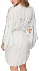 "Victoria's Secret Dream Angels Satin Kimono Robe ""ANGEL"" Bling Medium/Large"