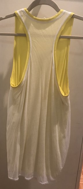 Helmut Lang Top White and yellow