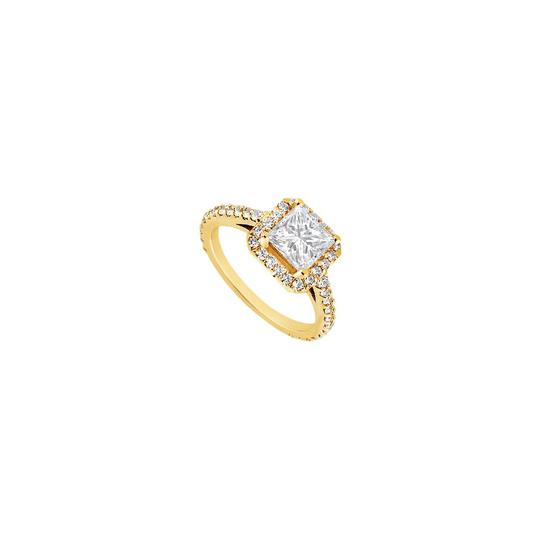 Preload https://img-static.tradesy.com/item/24434644/white-cubic-zirconia-engagement-18k-yellow-gold-vermeil-100-ct-czs-ring-0-0-540-540.jpg