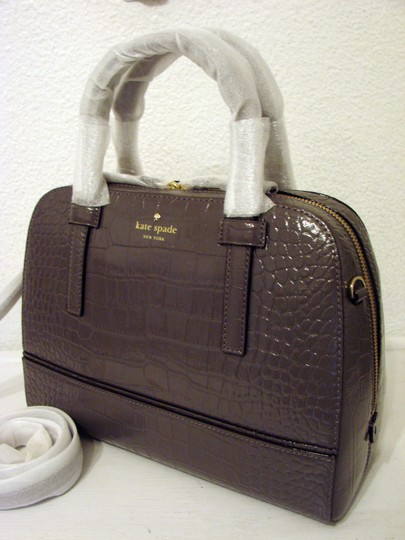 Kate Spade Satchel in Deep Graphite
