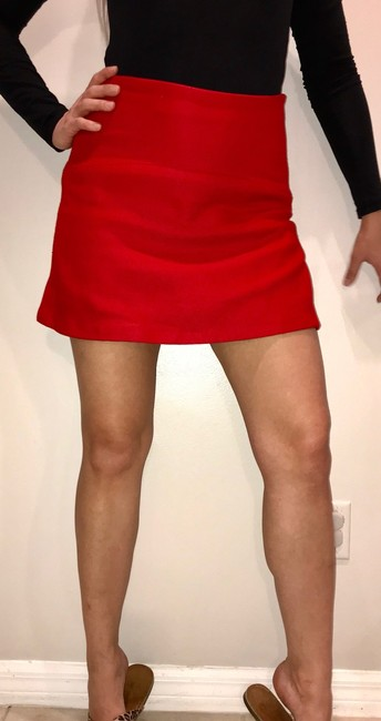 Zara Skirt Red