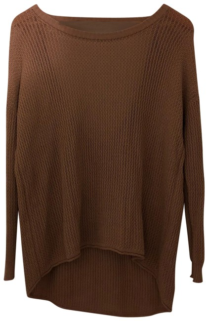 Preload https://img-static.tradesy.com/item/24434720/forever-21-boat-neck-tan-sweater-0-1-650-650.jpg
