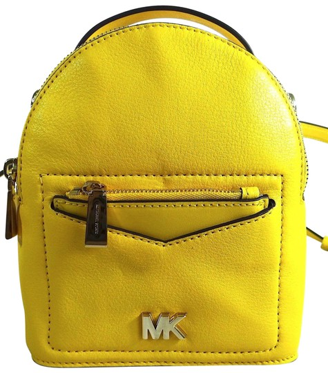 Preload https://img-static.tradesy.com/item/24434828/michael-kors-pebbled-xs-comvertible-sunflower-leather-backpack-0-1-540-540.jpg