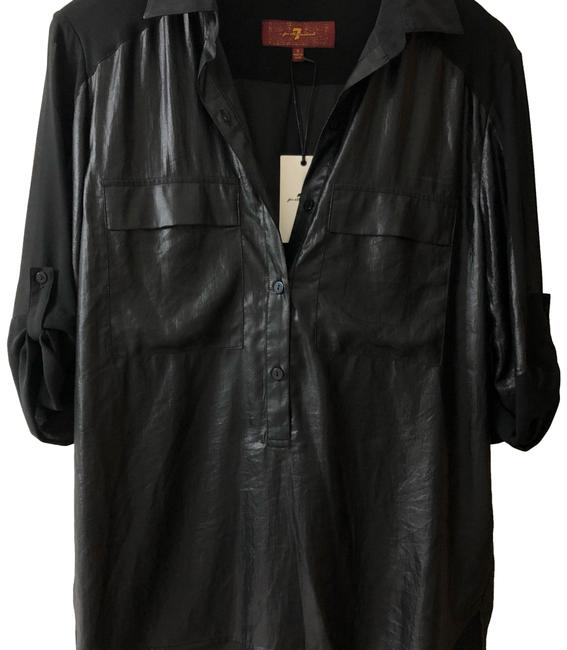 Preload https://img-static.tradesy.com/item/24434847/7-for-all-mankind-black-na-button-down-top-size-4-s-0-1-650-650.jpg