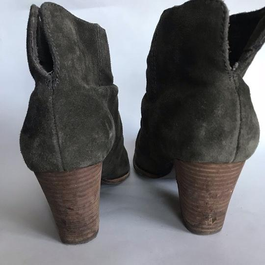 Anthropologie green Boots