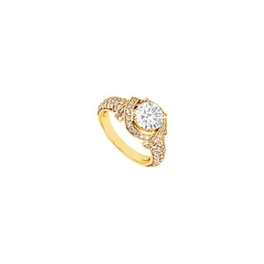 Preload https://img-static.tradesy.com/item/24434895/white-cubic-zirconia-engagement-18k-yellow-gold-vermeil-125-ct-czs-ring-0-0-540-540.jpg