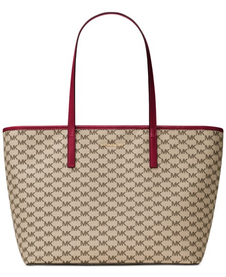 Preload https://img-static.tradesy.com/item/24434899/michael-kors-emry-large-tz-mk-signature-naturalcherry-tote-0-0-540-540.jpg
