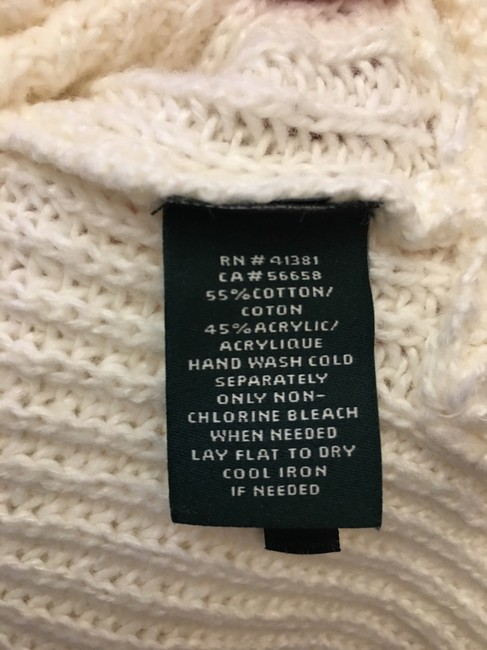 Lauren Ralph Lauren Cotton Blend Size Xl 16 To 18 New With Tags Sweater