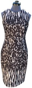 Calvin Klein #sheath #animalprint Dress