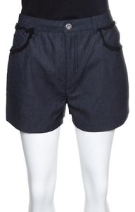 Miu Miu Cotton Mini/Short Shorts Grey