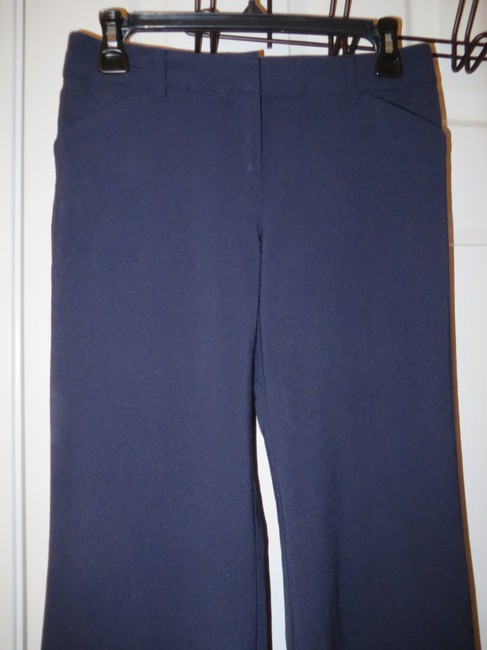 Victoria's Secret Body By Christie Fit Wear To Work Flare Boot Cut Pants Navy