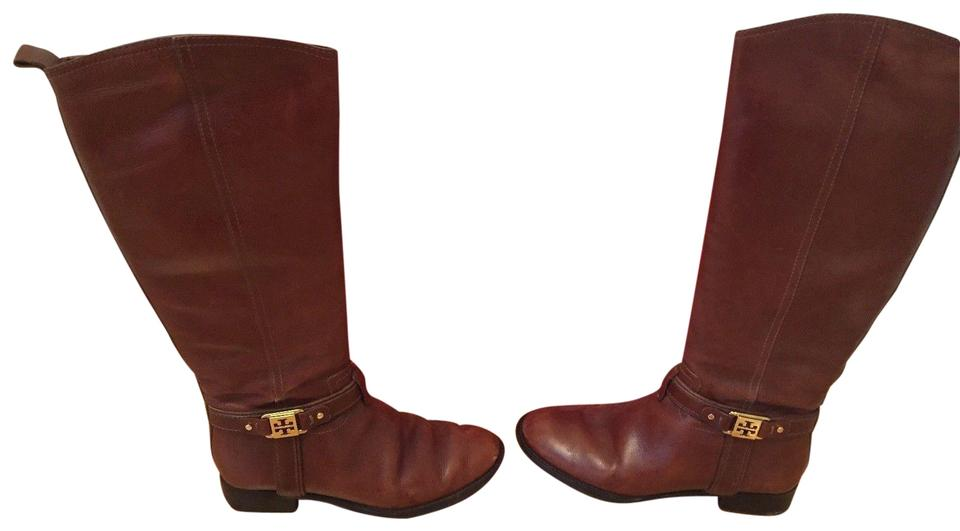 6440ae35fe223 Tory Burch Brown (Sienna) 22118384 Boots Booties Size US 7 Regular ...