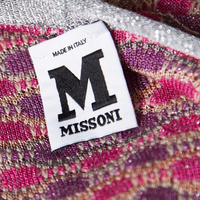 M Missoni Wool Viscose Polyester Nylon Cardigan