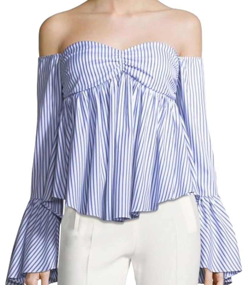 61d9337dc95 Caroline Constas 'max' Off The Shoulder Blouse Size 8 (M) - Tradesy