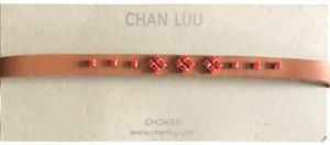 Chan Luu leather choker