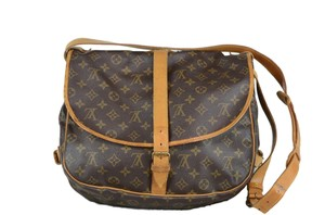 Louis Vuitton Saumur Monogram Cross Body Bag