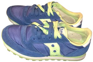 Saucony blue and green Athletic