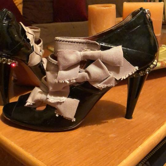 Lanvin Black and taupe Pumps
