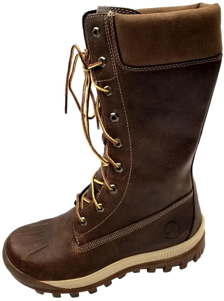 f66fcd51950 Timberland Brown Woodhaven Tall Waterproof Boots/Booties Size US 6.5  Regular (M, B) 35% off retail