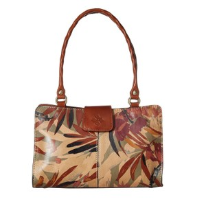 Patricia Nash Designs Satchel in Brown