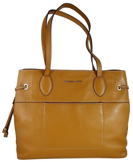 Michael Kors Leather 190049138885 Tote in Acorn