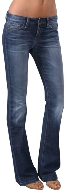 Item - Distressed The Muse Flare Leg Jeans Size 6 (S, 28)