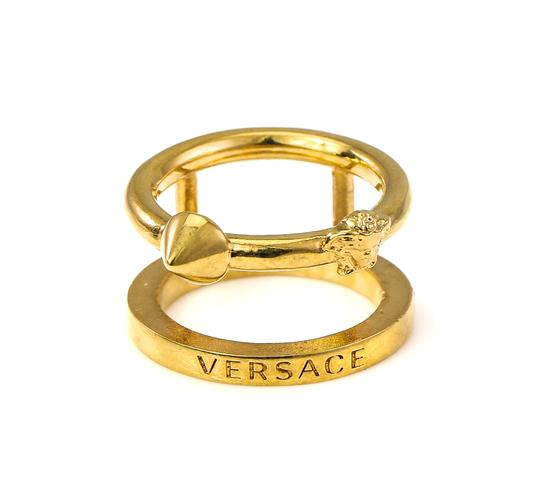Versace Medusa Head and Spike Accessory Ring