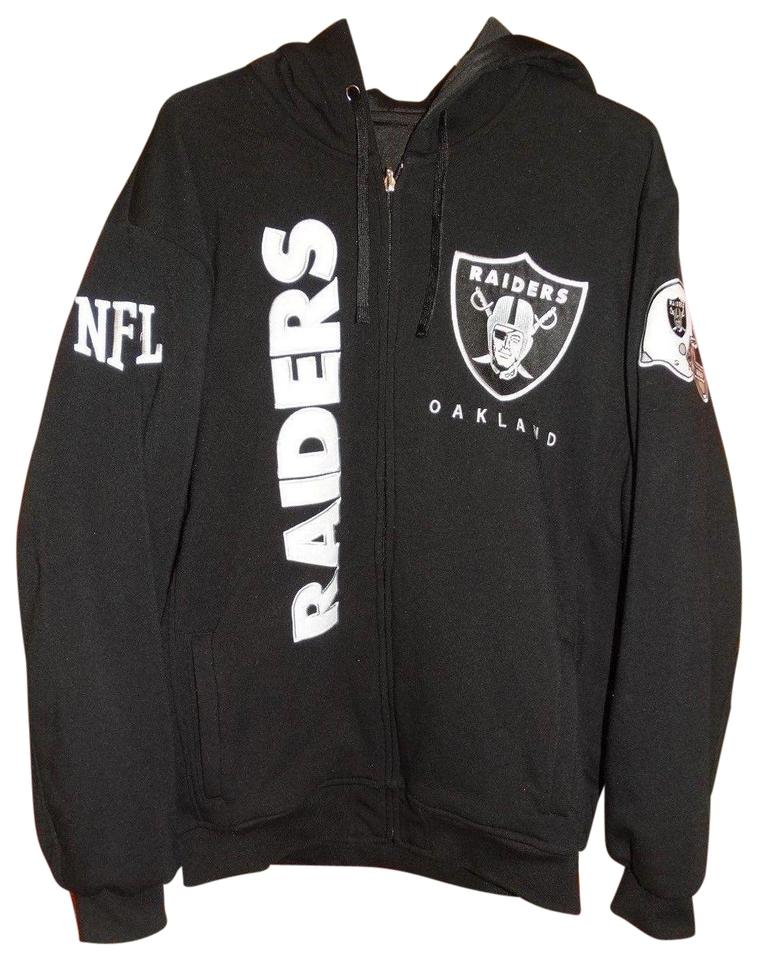 competitive price 2ff4a e96cc oakland raiders reversible hoodie