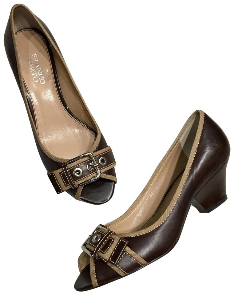 0b3c3cfd6d5 Franco Sarto Brown Tan Nairobi Pumps Size US 8 Regular (M