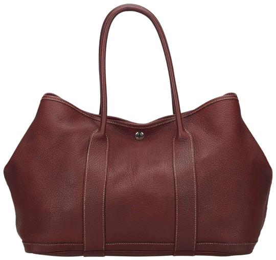 Preload https://img-static.tradesy.com/item/24435263/hermes-garden-party-negonda-red-leather-x-others-tote-0-1-540-540.jpg
