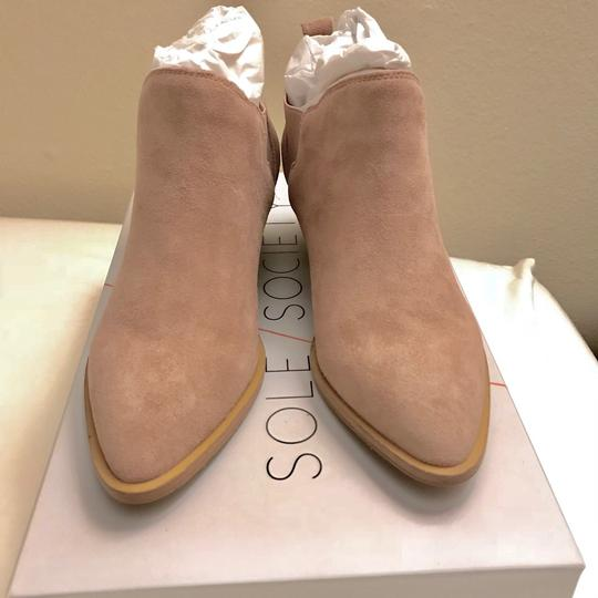 Sole Society Dusty Rose Boots