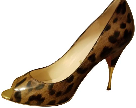 Preload https://img-static.tradesy.com/item/24435302/christian-louboutin-leopard-print-chocolate-and-tan-tones-yoyospina-pumps-size-eu-41-approx-us-11-re-0-1-540-540.jpg
