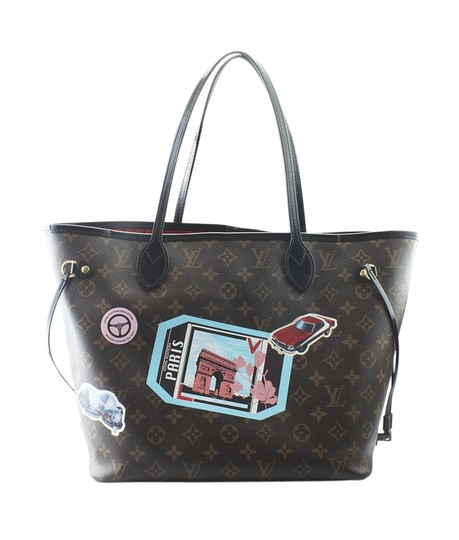 Louis Vuitton Canvas Canvas Gold-tone Perfume Tote in Brown