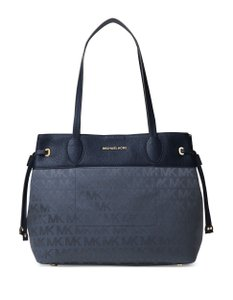 Michael Kors Canvas/Leather 190864480503 Tote in Navy