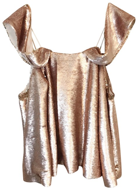Preload https://img-static.tradesy.com/item/24435324/elliatt-gold-revolution-off-the-shoulder-blouse-size-6-s-0-1-650-650.jpg