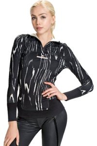 adidas By Stella McCartney Adidas Stella McCartney Hood Black Frost Active Long Sleeve Wood Grain