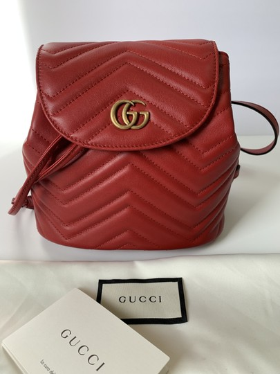 Gucci Gg Marmont Mamront Quilted Marmont Gg Marmont Gg Matelasse Backpack