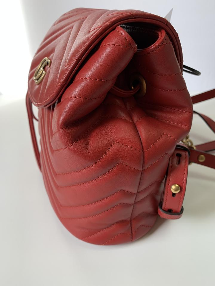 260f3e06ada Gucci Gg Marmont Mamront Quilted Marmont Gg Marmont Gg Matelasse Backpack  Image 8. 123456789