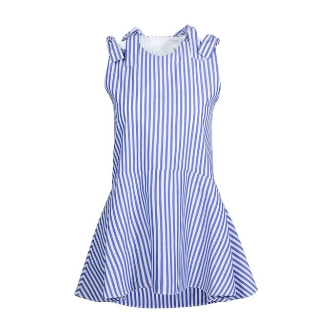 Preload https://img-static.tradesy.com/item/24435442/blue-beatrice-peplum-stripe-shoulders-blouse-size-4-s-0-0-650-650.jpg