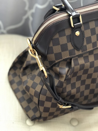 Louis Vuitton Leather Gold Hardware Satchel in Brown