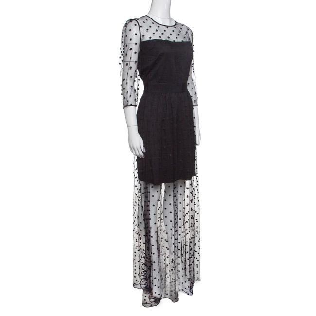 Black Maxi Dress by ALICE by Temperley Polka Dot Maxi Polyester