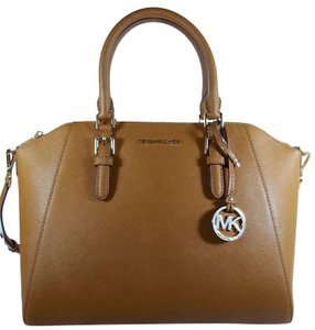 Michael Kors Leather 192317128918 Satchel in Luggage