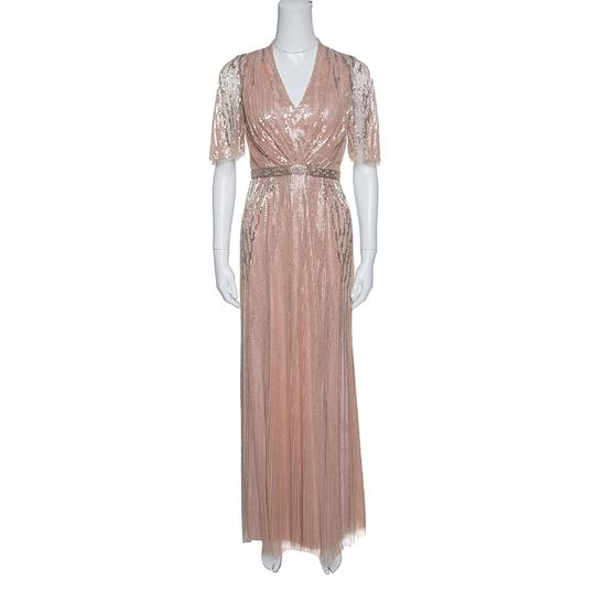 Preload https://img-static.tradesy.com/item/24435516/jenny-packham-pink-blush-embellished-tulle-gown-s-casual-wedding-dress-size-4-s-0-0-540-540.jpg