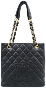 Chanel Pst Caviar Petit Shoulder Bag