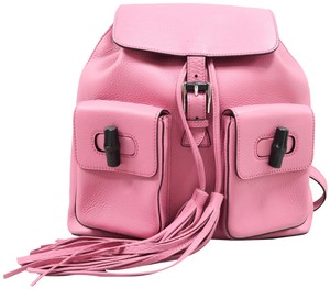 d1acda66187e Pink Gucci Backpacks - Over 70% off at Tradesy