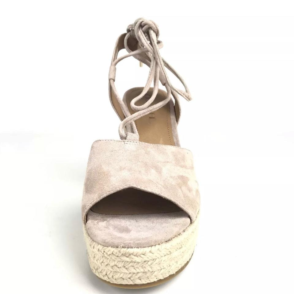 f0541c6a265 Coach Beige Dana Espadrille Wedges Size US 8.5 Regular (M