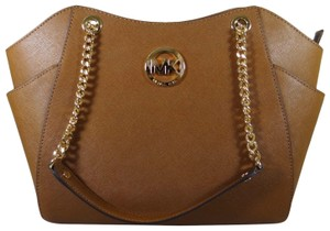 Michael Kors Leather 889154488755 Tote in Luggage