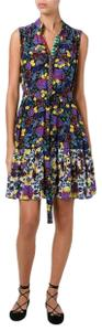 SALONI short dress Silk Floral on Tradesy