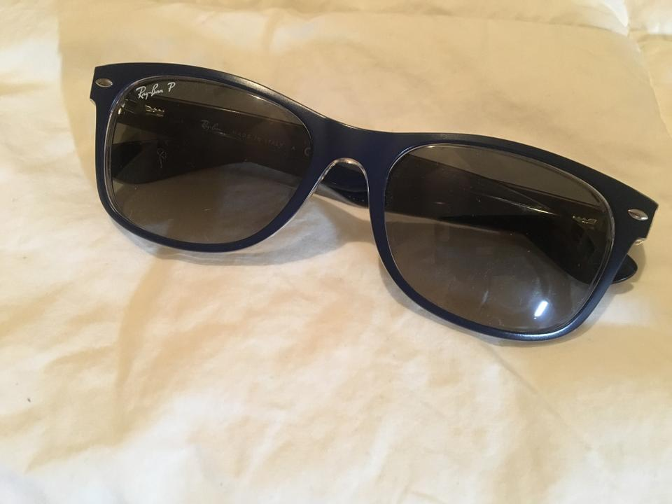 a4bbf01ba4 Ray-Ban Blue New Wayfarer Polarized Sunglasses - Tradesy