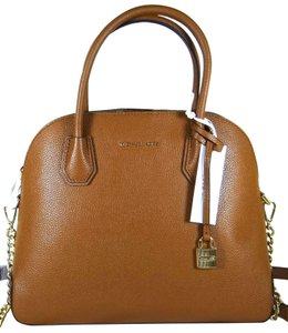 Michael Kors Leather 190864736969 Satchel in Luggage